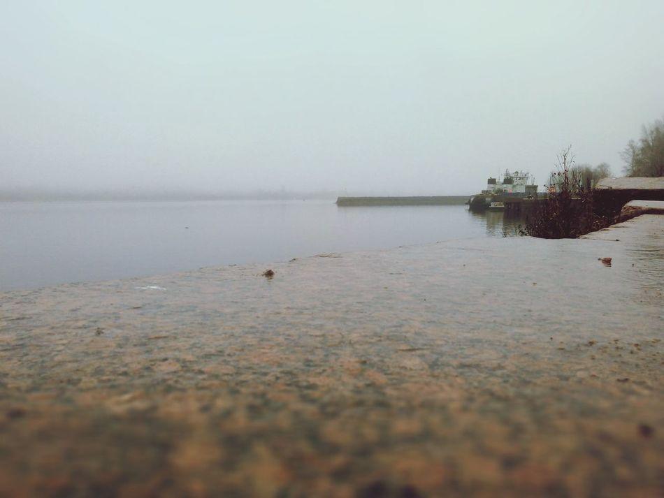 Хмуро, туман, но красиво. First Eyeem Photo