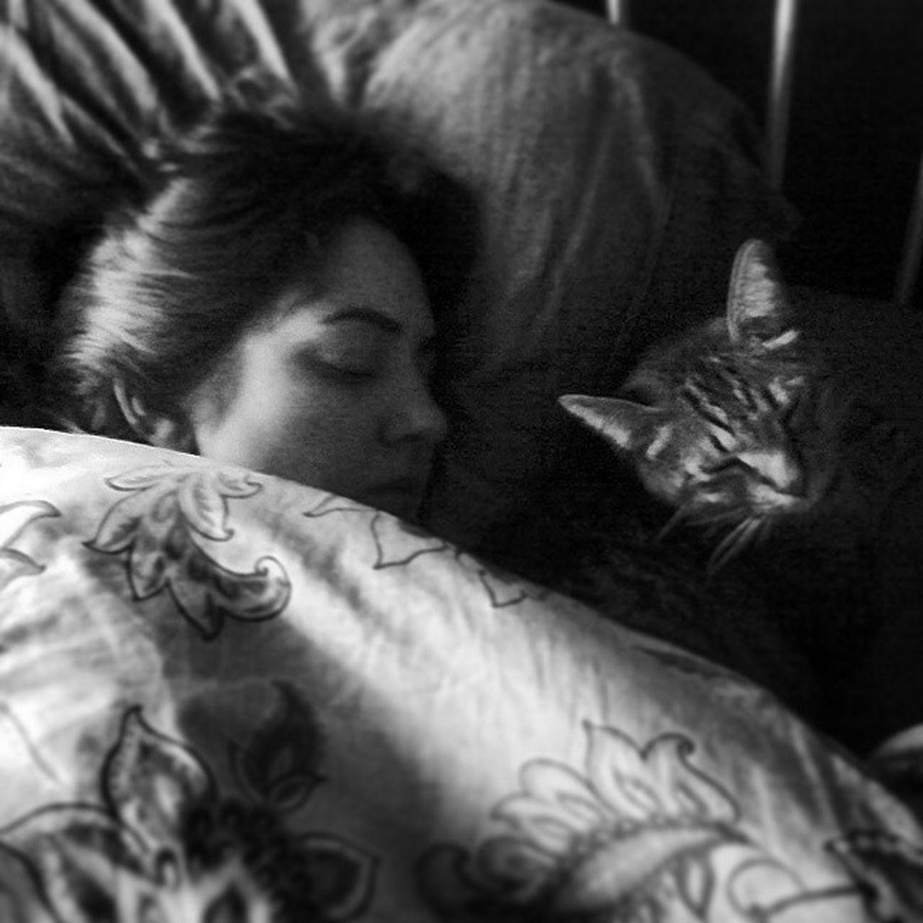 Lazysunday with my favorite Sleepingbuddy . Leadingalifeofleisure Sleep hollygolightly breakfastattiffanys cat 😽 // 📷 @peteryuskauskas