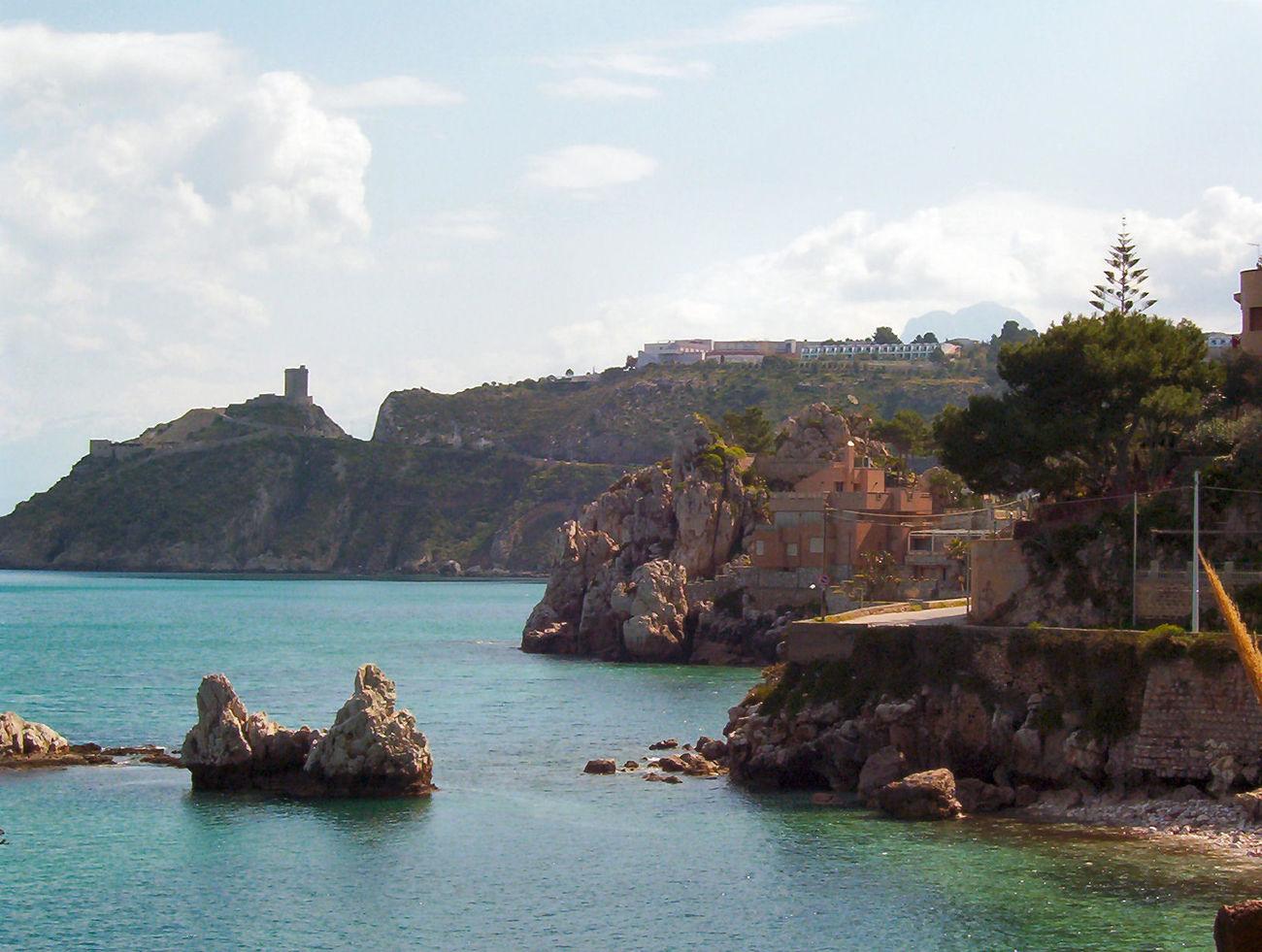 Altavilla Milicia, Sicilia, Paesaggio, Mare