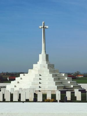Ypres Tyne Cot cemetery Belgium humbling sombre