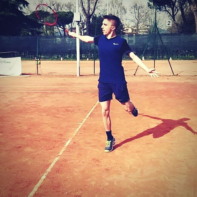 Dreaming Tennis Dream Workout Working Hard Backhand Federer Court Paradise Belive Me Searching Academy Sponsor First Eyeem Photo