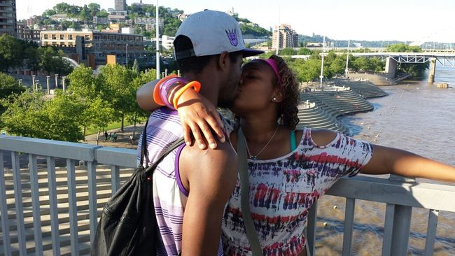 My older Bro got engage In Cincinnati Love ♥ Happy :) Taking Photos
