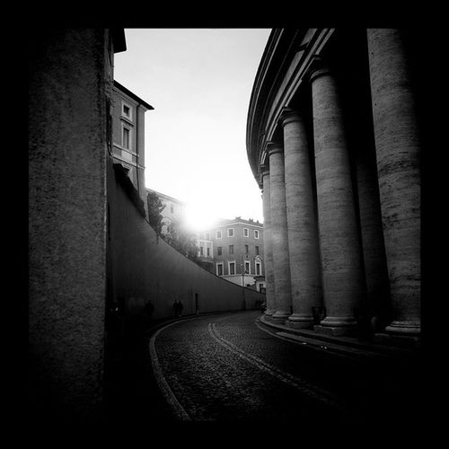 Going to work pt II Rome Italy Altfty Streetphotography blackandwhite bw