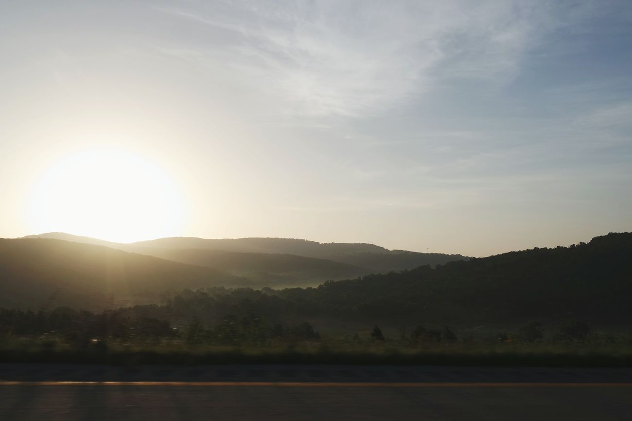 Sunrise over Beautiful Arkansas
