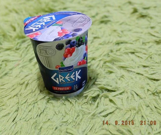 Greek yoghurtรสชาดใหม่ อร่อยดี 120แคล ก่อนนอน