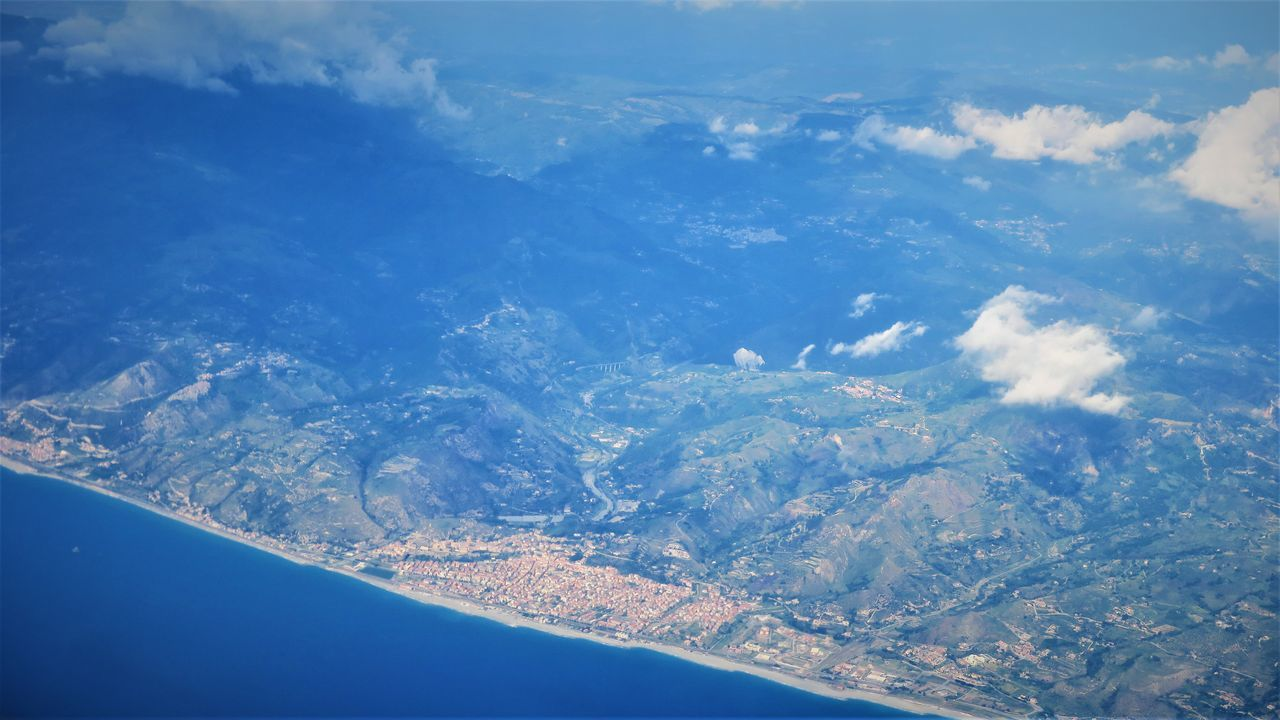 Aerial Shot Aerial View Beauty In Nature Day Italy Mediterranean Sea Nature No People Outdoors Scenics Sky Tranquility