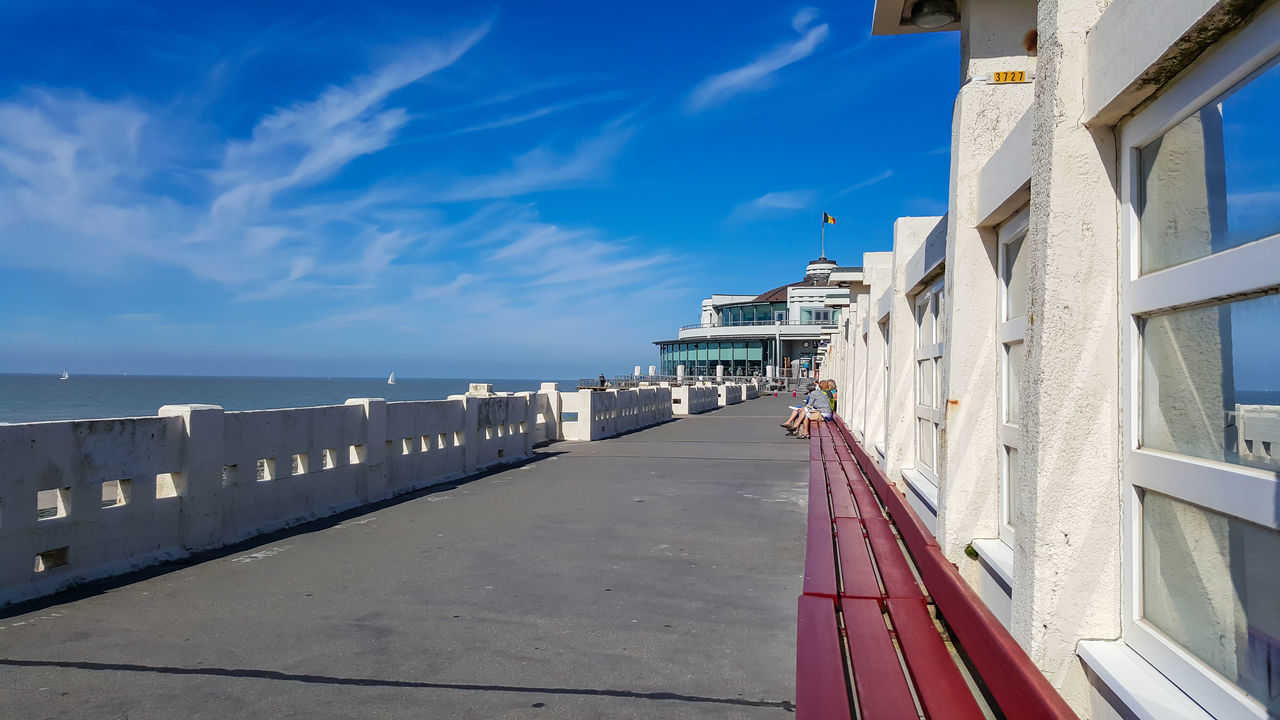 Beach Belgien Belgium Blue Sky Business Finance And Industry Canoma Photography City Day Meer No People Nordsee North Sea Ocean Outdoors Ozean S6edge S6edgephotography S6photography Sea Seabridge Seebrücke Sky Strawberry Travel Destinations