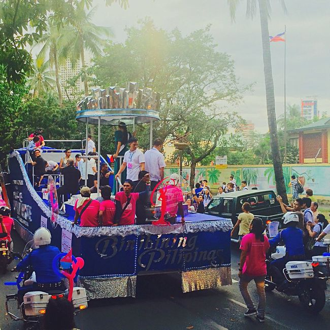 The sunshine of our universe // Pia Wurtzbach's Victory Parade (01252016 - Quirino Avenue, Manila) Manila, Philippines Quirino Avenue Pia Wurtzbach Philippines Miss Universe 2015 Miss Universe Filipina
