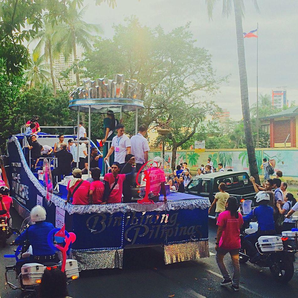 The sunshine of our universe // Pia Wurtzbach's Victory Parade (01252016 - Quirino Avenue, Manila) Manila, Philippines Quirino Avenue Pia Wurtzbach Philippines Miss Universe 2015 Miss Universe Filipina