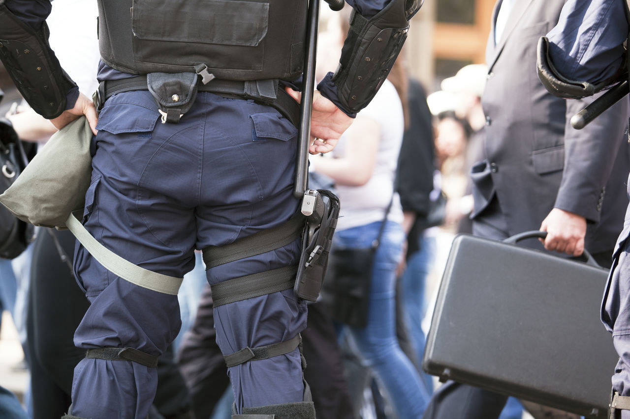 Beautiful stock photos of police,  Day,  Focus On Foreground,  Hand On Hip,  Horizontal Image