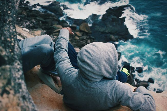 Cliff Side Chillin' Open Edit Enjoying Life EyeEm Best Shots EyeEm Gallery EyeEm Nature Lover The Traveler - 2015 EyeEm Awards Share Your Adventure Highlights From Share Your Adventure