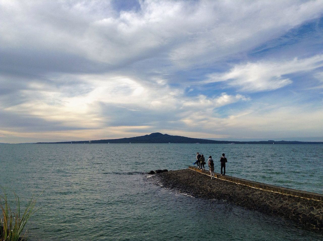 On a blustery, steel blue day Melancholic Landscapes Rangitoto Vscocam New Zealand On The Move Edge Of The World The Great Outdoors With Adobe