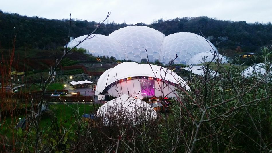 The Eden Project Domes Exploring Experience Day Out Having Fun :)