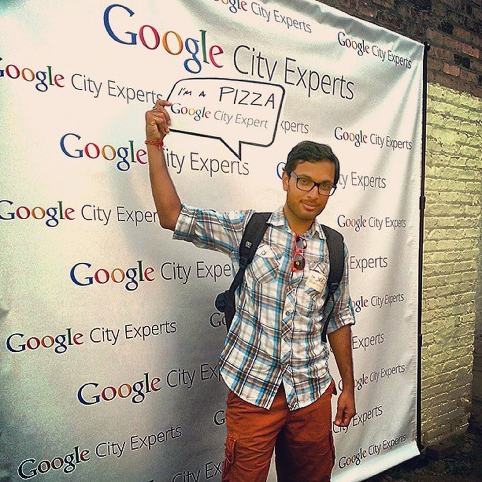 I wear this badge of honor proudly! Googlecityexperts Chicago