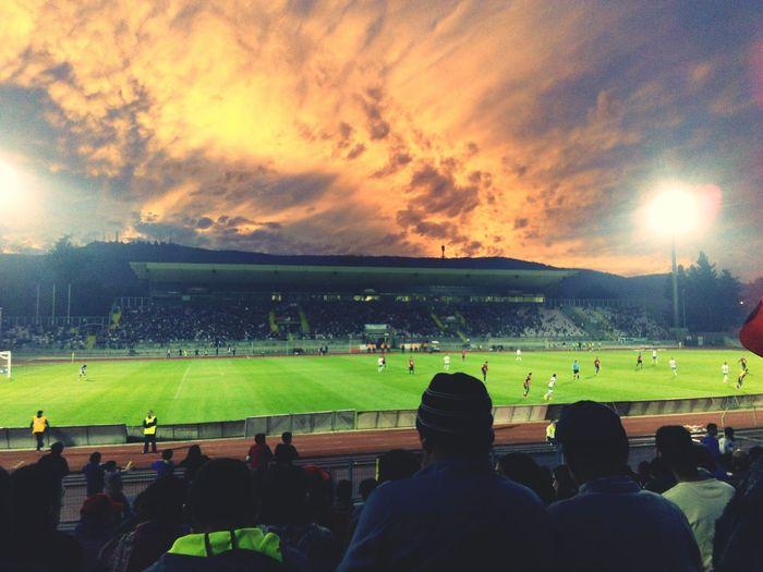 Partido de Rangers de Talca En el estadio fiscal de Talca Game of Rangers de Talca In fiscal stadium Talca First Eyeem Photo