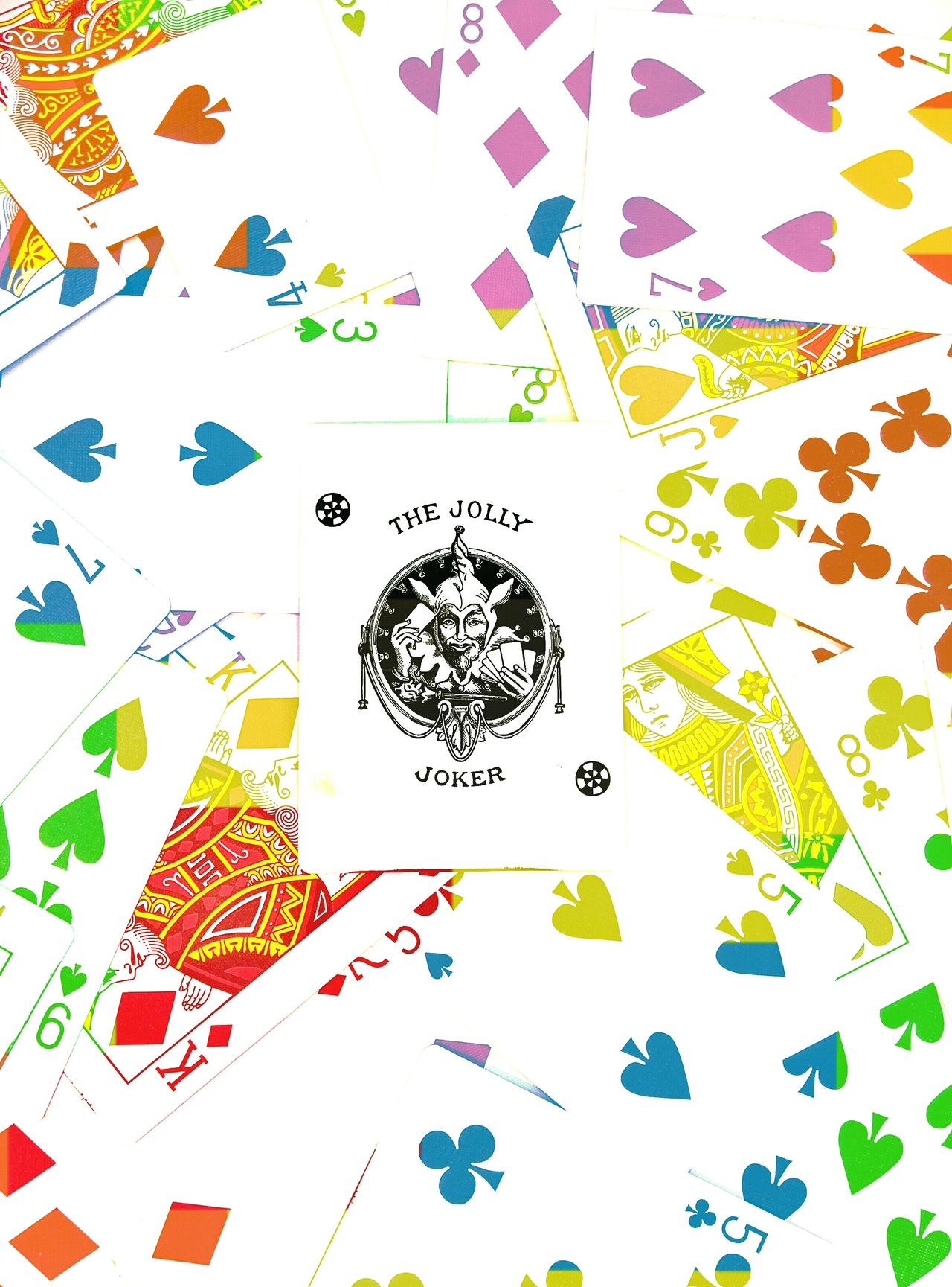Joker JollyJoker Jolly Cards Shuffle Colourful Colour Of Life