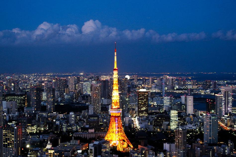 City City Lights City View  Cityscapes Japan Roppongi Tokyo Tokyo Night Tokyo Tower Tokyo,Japan 六本木ヒルズ 夜景 展望台  日本 景色 東京 東京タワー 都会