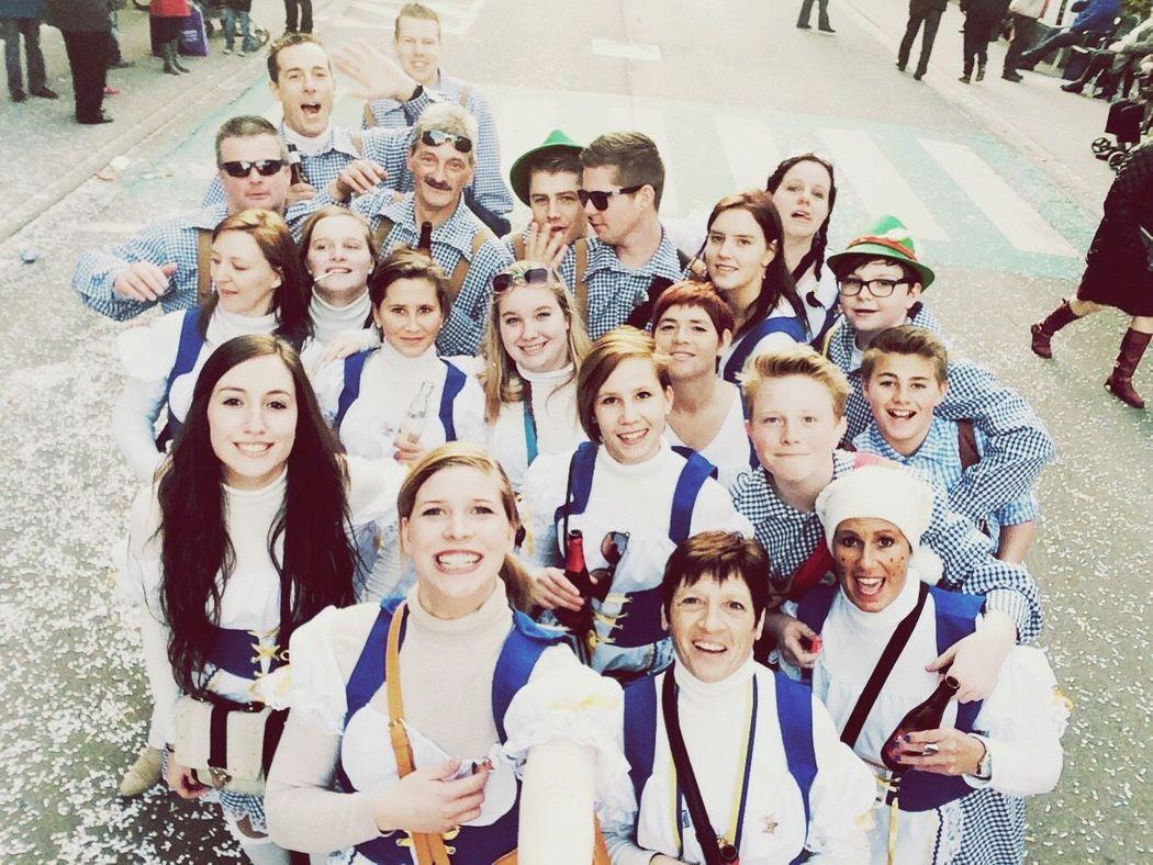Real friends ❤️ Carnaval2015 Debekkentrekkers Party