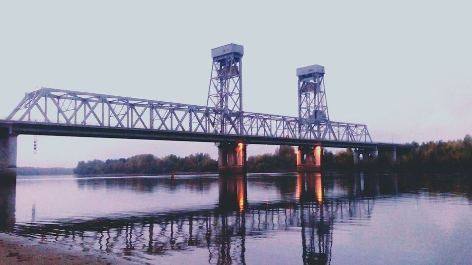 мост река Безлюдно Природа