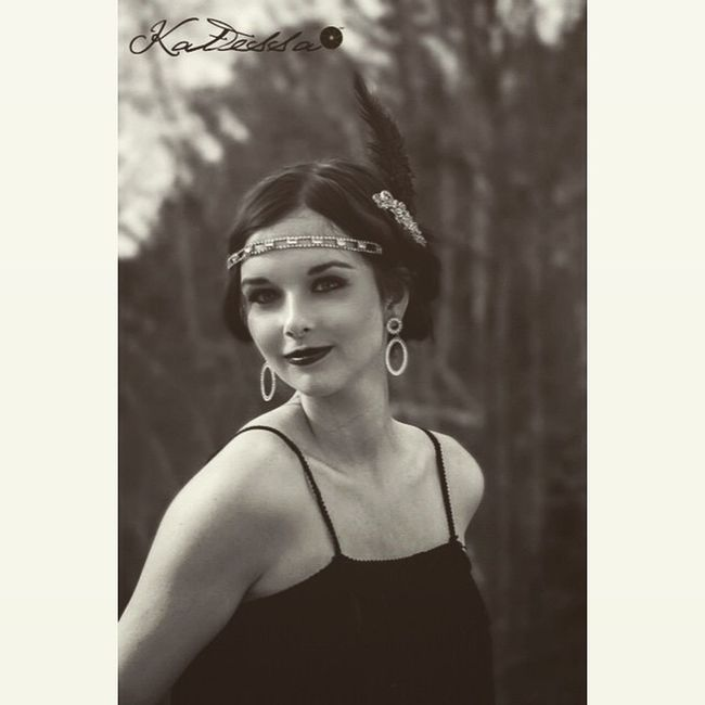 Love this one Prom Promphotography Promphotographer NH nhphotographer nhphotography promhair promlook roaring20s 20s vintage retro beautiul stunning gorgeous woman girl blackandwhite blackandwhitephotography flapper flapperdress photography photographer katessa katessaphotography