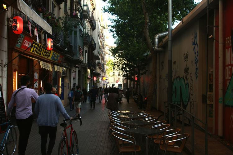 Walking BCN Streets Daytoday Finding New Frontiers Adapted To The City