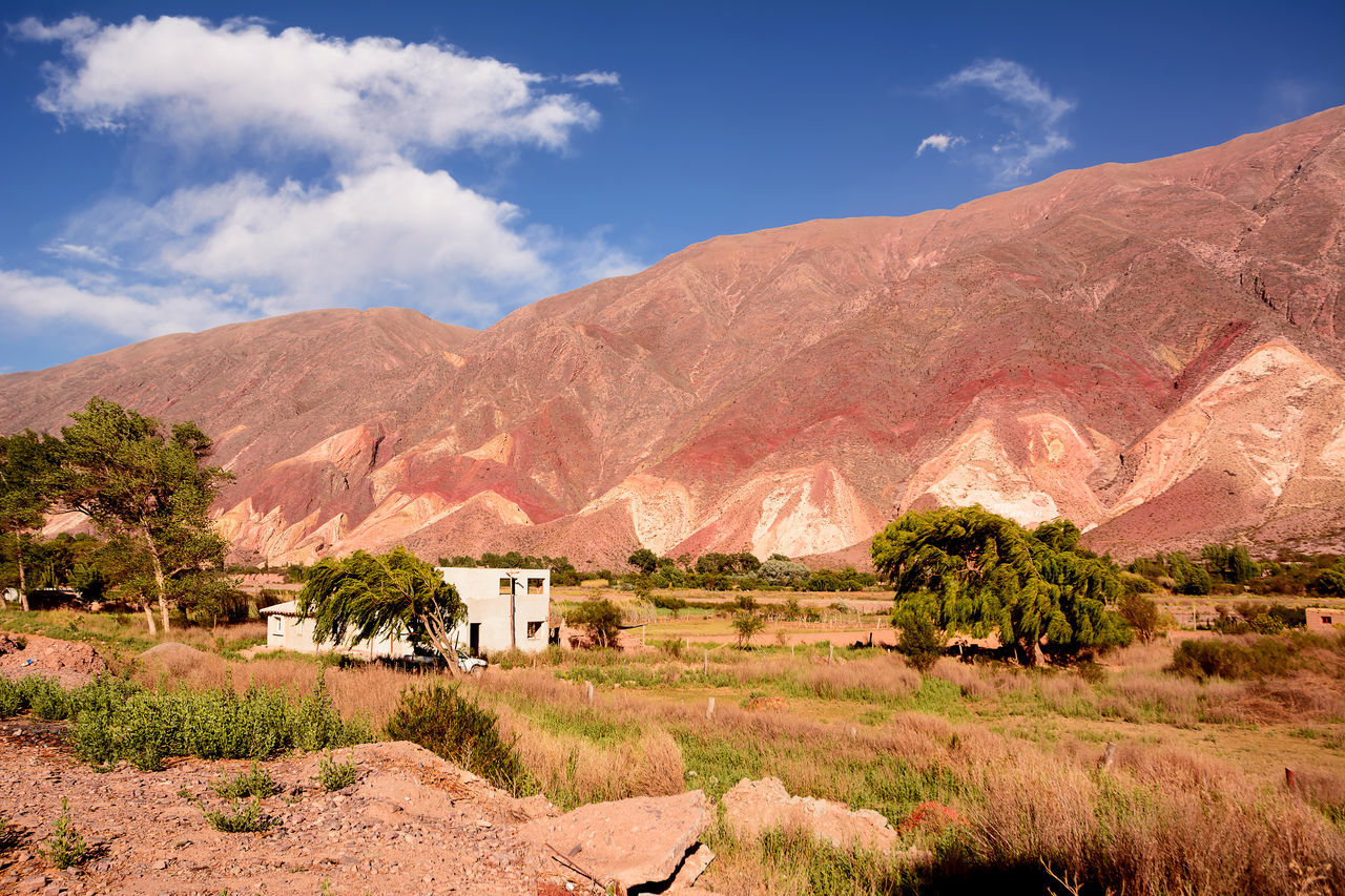 Table of painter (Tavola del pintor) in Maimarà (Argentina) America Andes Argentina Arid Climate Day Desert Geology Hill Humahuaca Jujuy Landscape Layers Maimara Maimara Jujuy Argentina Mountain Mountain Range Nature Paleta Palette Panoramic Pintor Quebrada Scenics