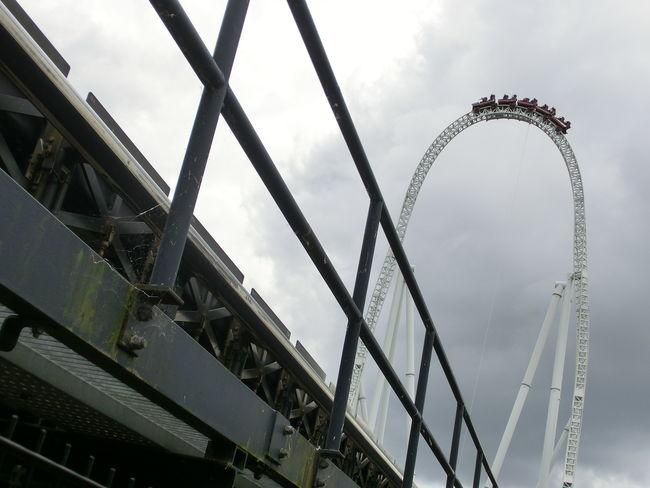 Multiple Layers Ride Roller Coaster Theme Park Thorpepark Tilt