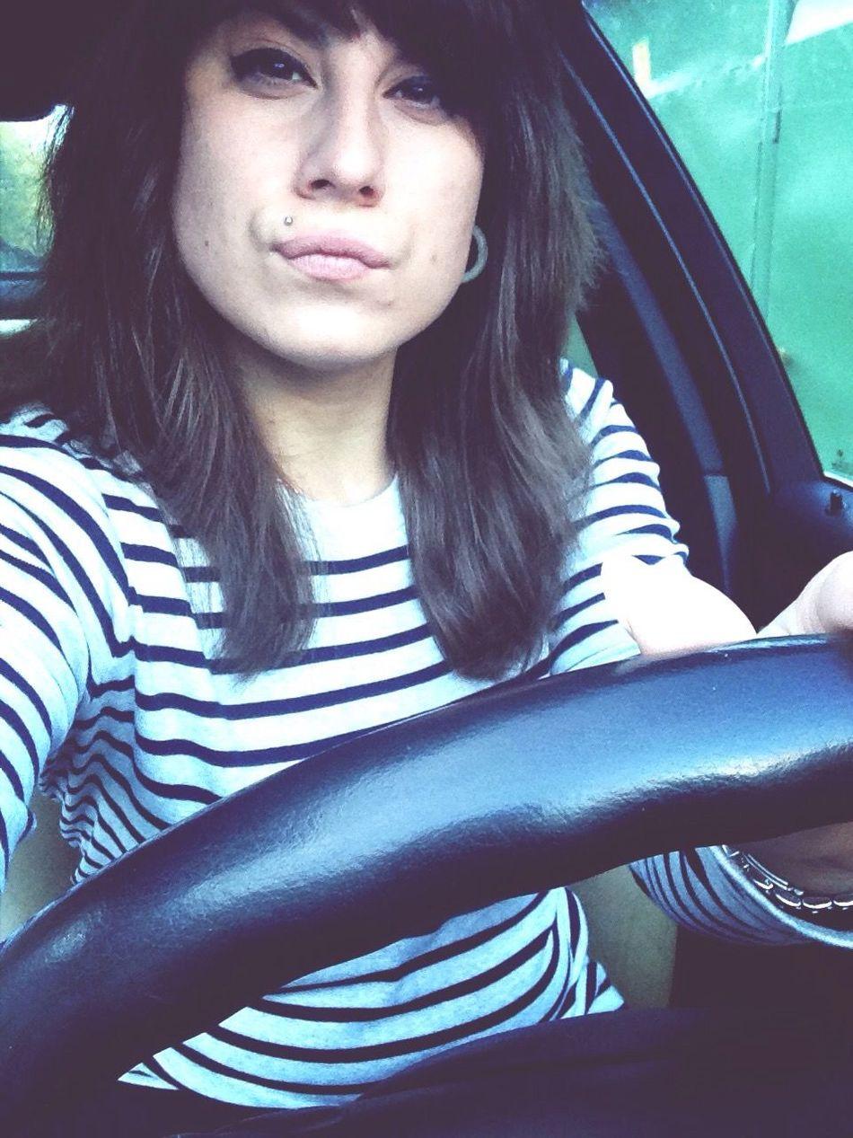 Селфи))) Car Driving Parking