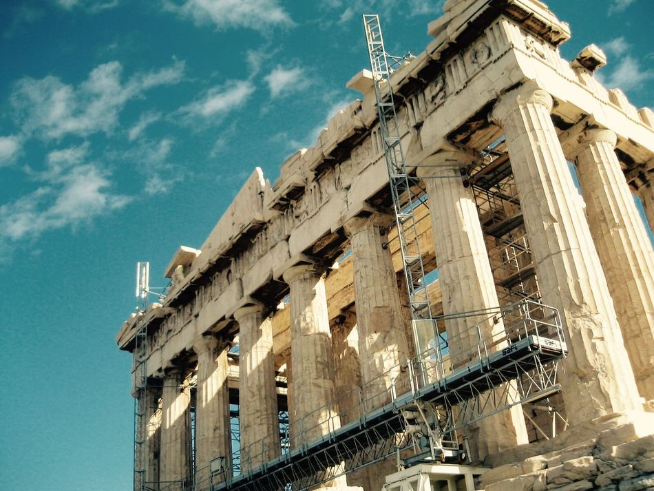 Beautiful stock photos of athens, Ancient, Architectural Column, Architecture, Building Exterior