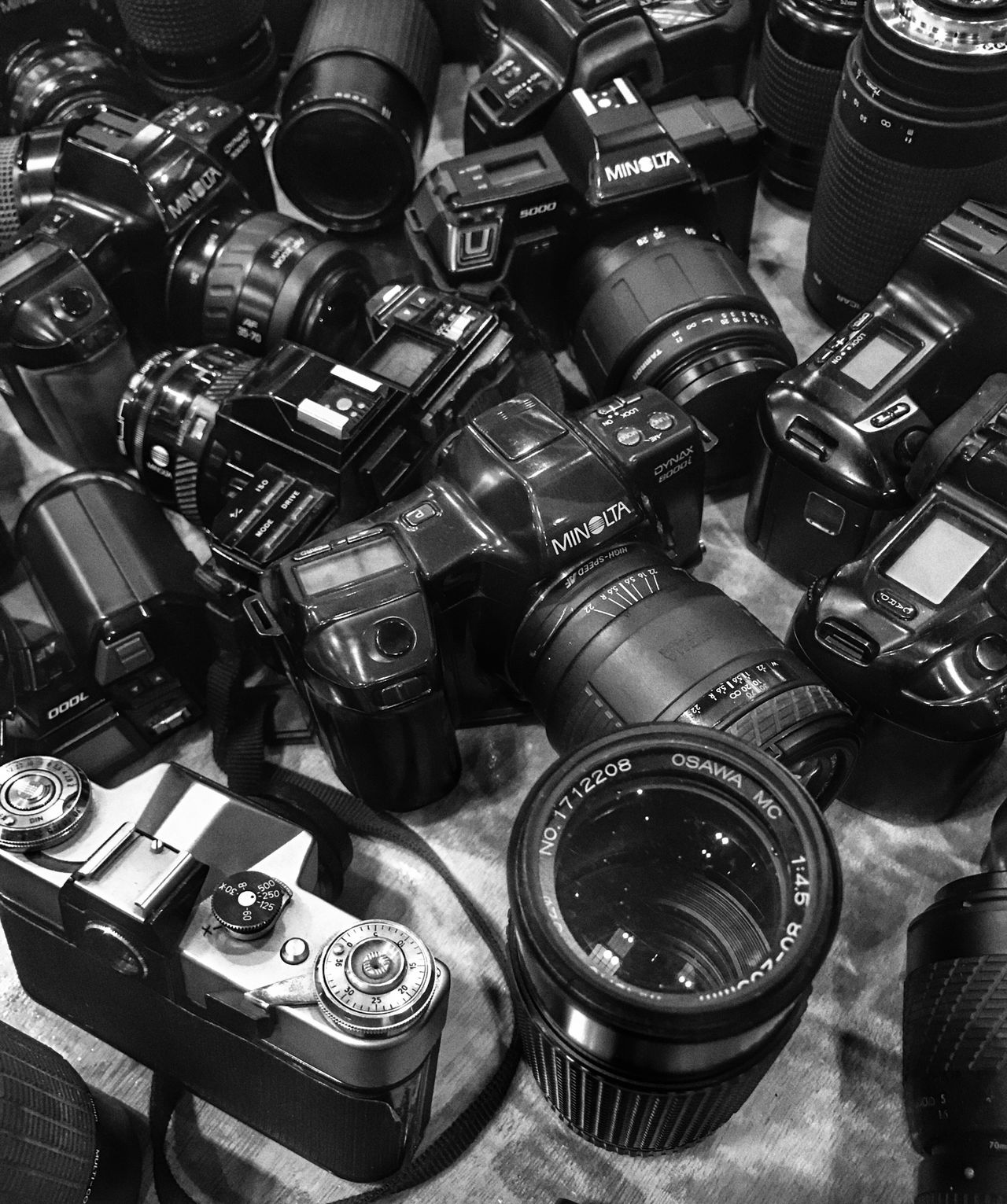 Happy days at the UKPhotoShow Large Group Of Objects Technology High Angle View Camera Camera - Photographic Equipment Film Film Photography Lens Iphonephotography IPhoneography IPhone Photography IPhone Eye4photography  EyeEm Gallery EyeEmBestPics EyeEm Indoors  Black & White Black&white Black And White Photography Exhibition No People Day