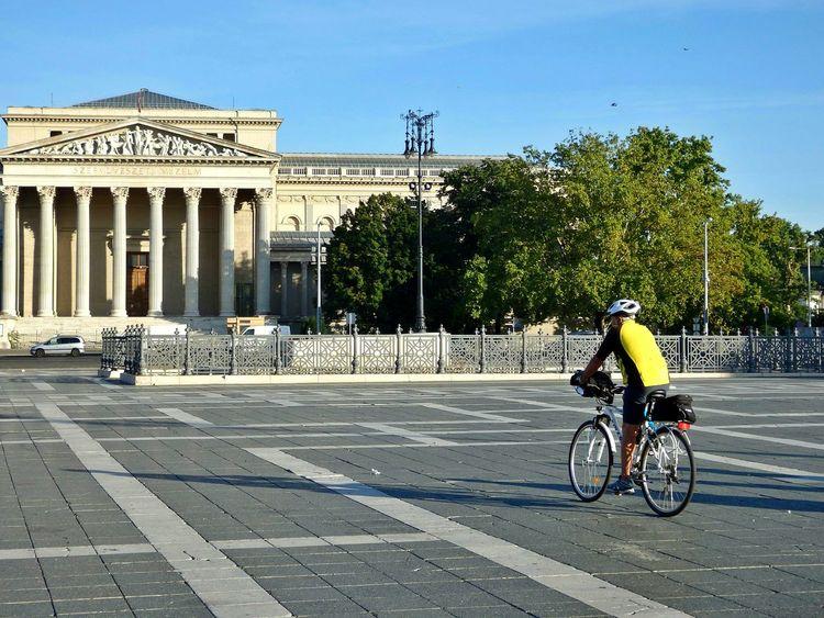 Sport In The City Biking Cycling Budapest Eyeem Hungary City Life Discover Your City Museum Szépművészeti Múzeum