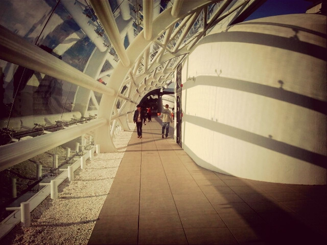 indoors, architecture, built structure, walking, real people, men, full length, lifestyles, women, large group of people, day, people, adult, adults only