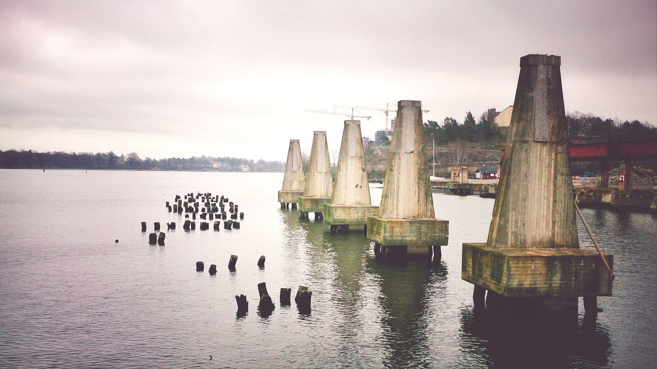 An old pier the are planning to rebuild to houses. Quite cool. MADE IN SWEDEN View Enjoying The Sights Mobile Photography