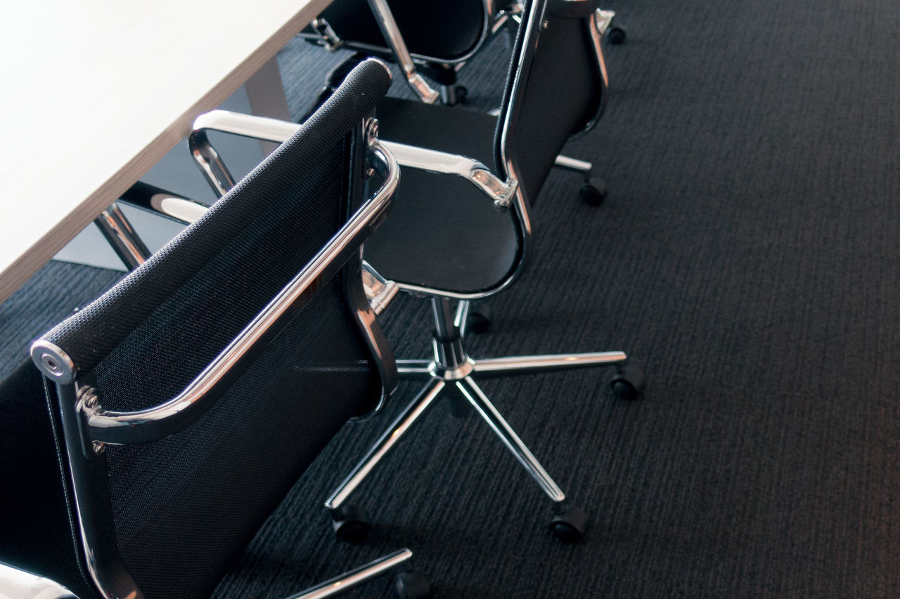 Business Chair Close-up Day Differing Abilities Indoors  Meeting No People Office Chair Seat