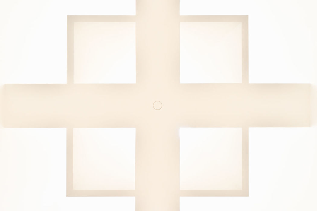 Architecture Details: Ceiling Geometric Shapes Architecture Architecture Details Bright Cross Geometric Shapes Geometry Light Lines No People Rectangle Rectangles Shape Shapes Square Squares White Background