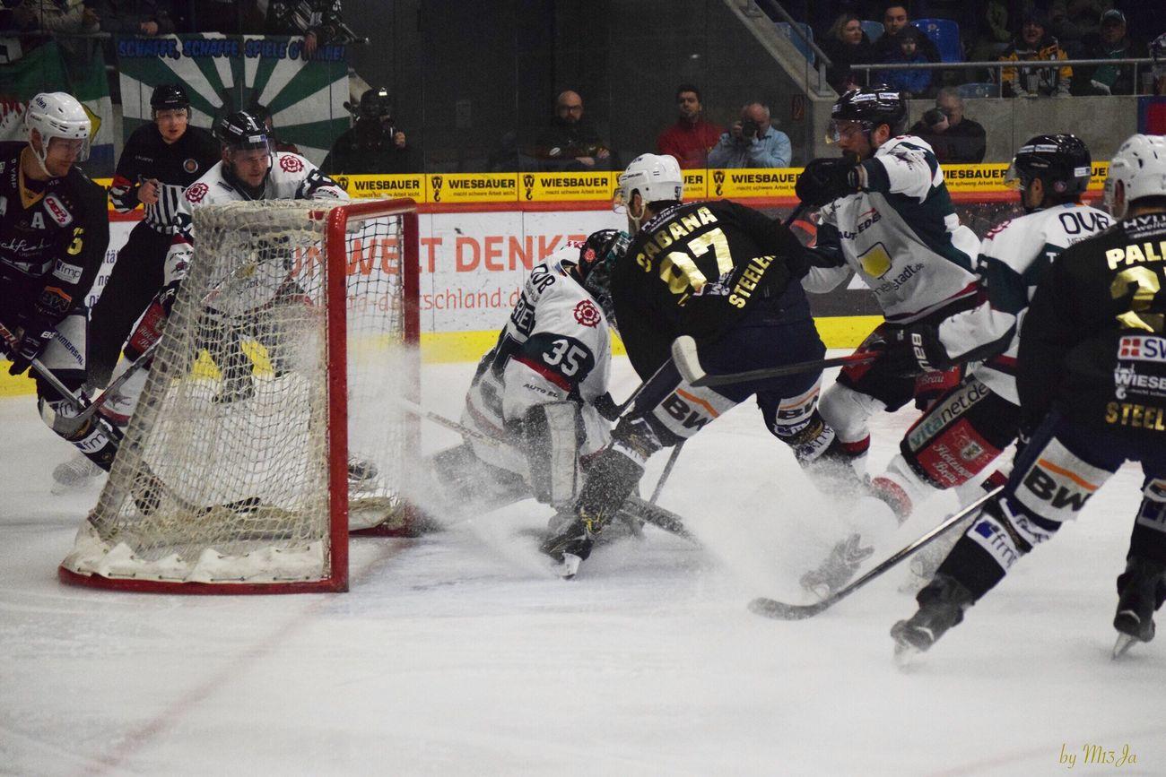 Eishockey Eishalle Eishockey Tore Ice Icehockey Steelers Sport Sports Sports Photography