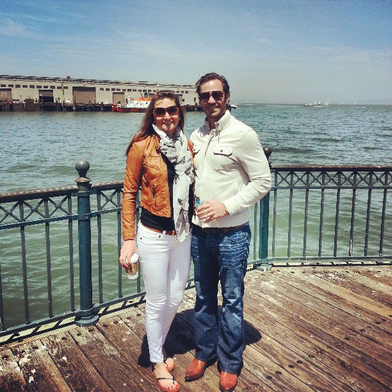 Little stroll in Sanfrancisco along Fishermanswharf - beautiful weather today!