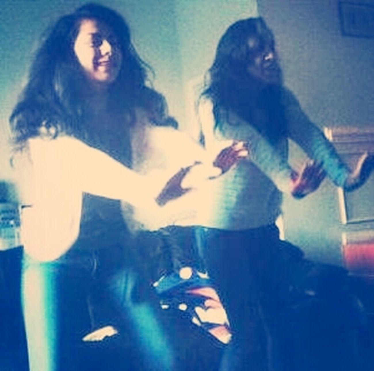 Doing Zumba With Karen:)
