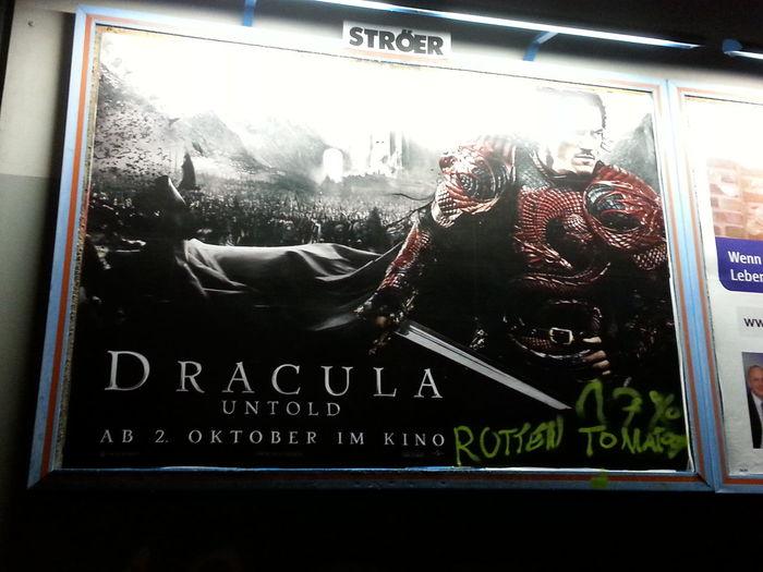I prefer my graffiti strictly critical...