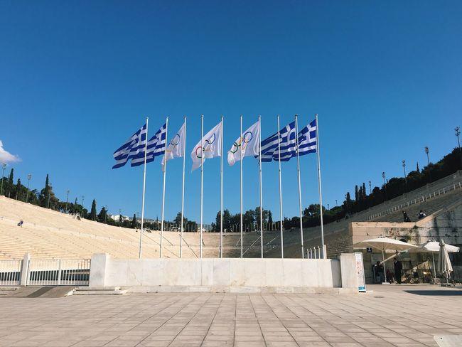 Athens Greece Olympic Stadium Panathenaicstadium