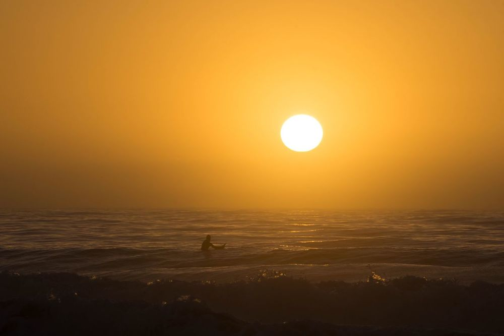 Surfing is good for the soul Sun Sea Beauty In Nature Nature Scenics Adventure Outdoors Horizon Over Water Sport Sky Water Surfing Surf Life Beach Life Beach Ocean Waves Sunrise Sony Sony A6000 Art Is Everywhere The Great Outdoors - 2017 EyeEm Awards