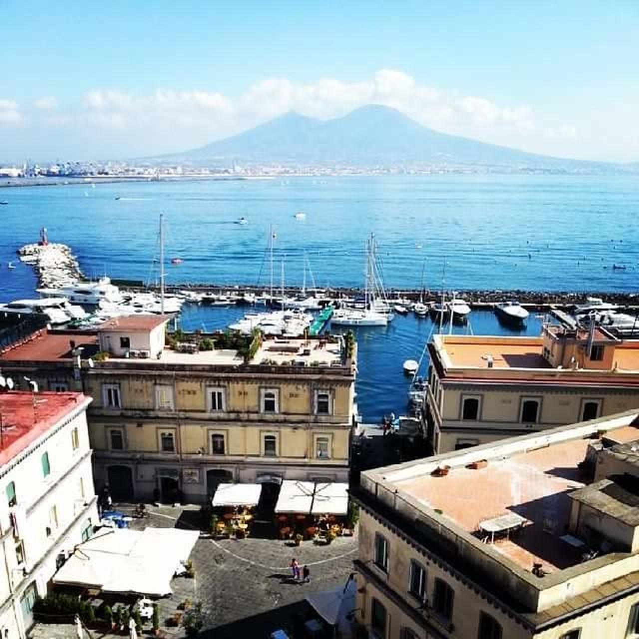 Sea Sky Hometown Sea And Sky Love ♥ Napoli ❤ Napoli Italy Castel Dell'ovo EyeEmNewHere