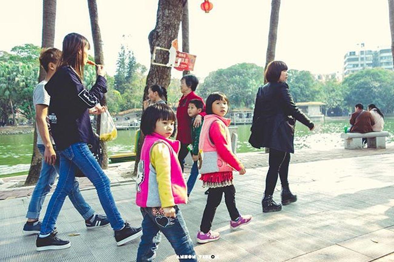 step by step~ . GAOZHOU Life Kid Park Joy Happy Cute Color Rx100