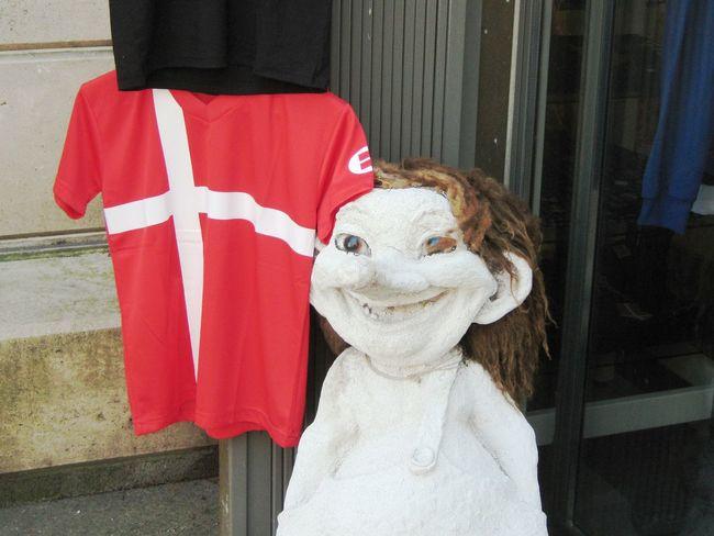 Langelinie, Copenhagen Architectural Column Close-up Column Copenhagen Culture Cultures Day Focus On Foreground Langelinie No People Outdoors Red Troll