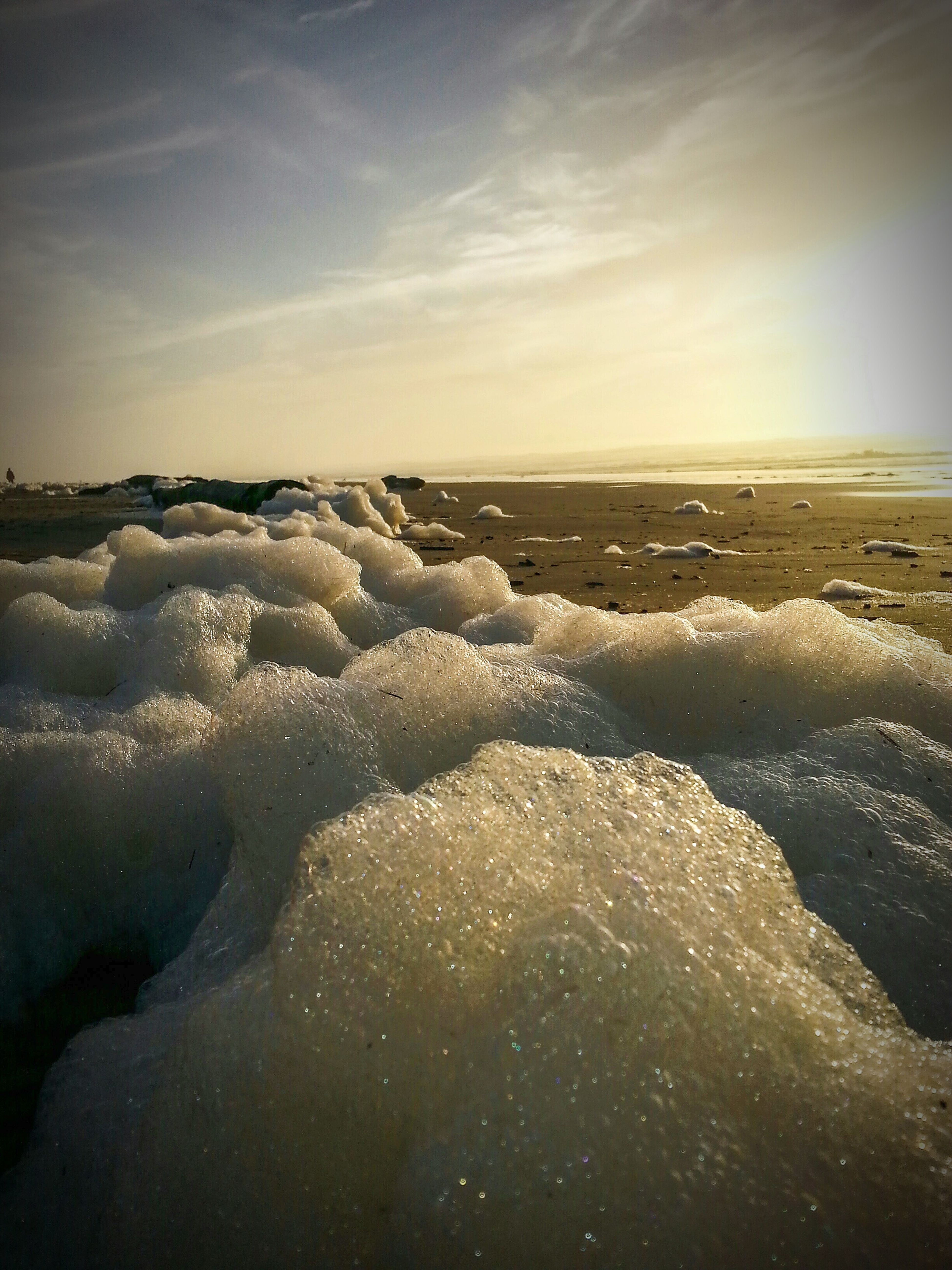 PNW Sunset WestCoast Beachography Foam Bubbles Beachlife Pacific Ocean Beachliving Photography