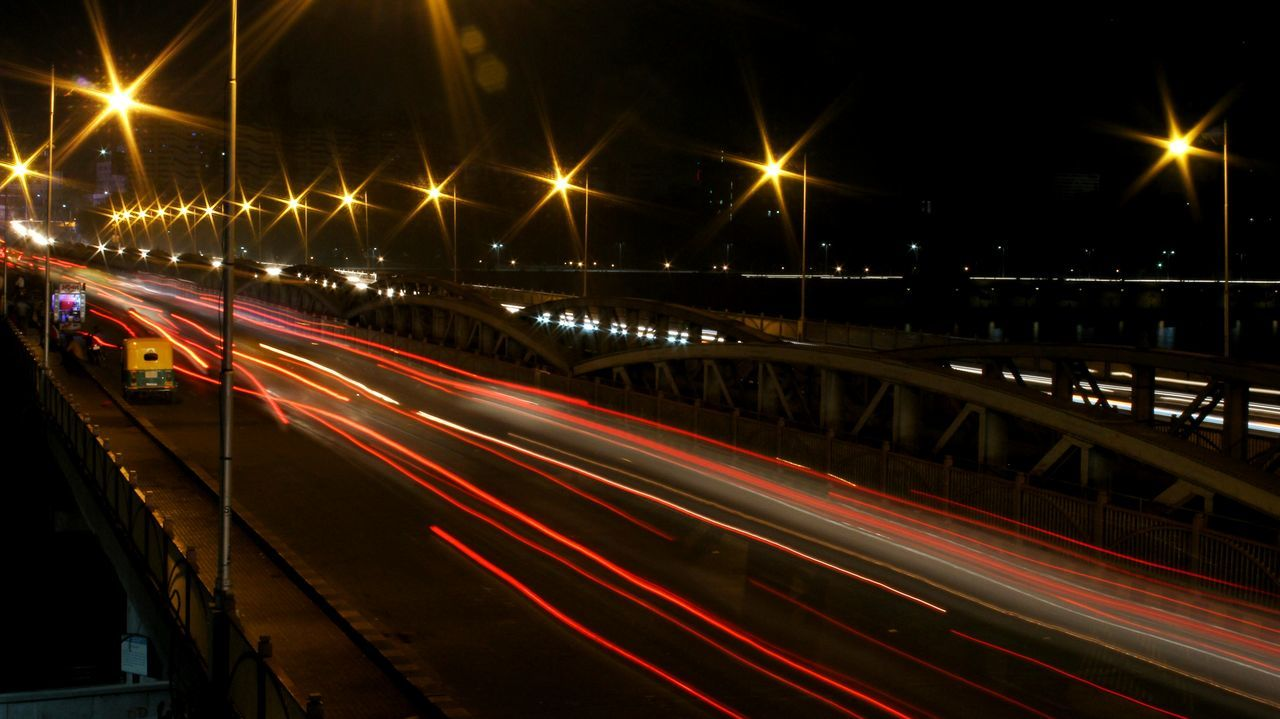 Trails Night Photography Long Exposure Ahmedabad Gujarat India