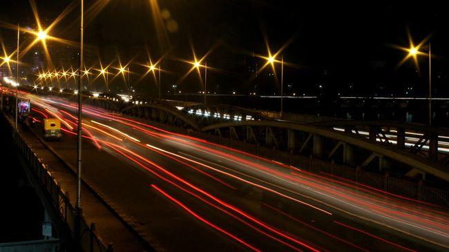 Trails Night Photography Long Exposure Ahmedabad Gujarat India