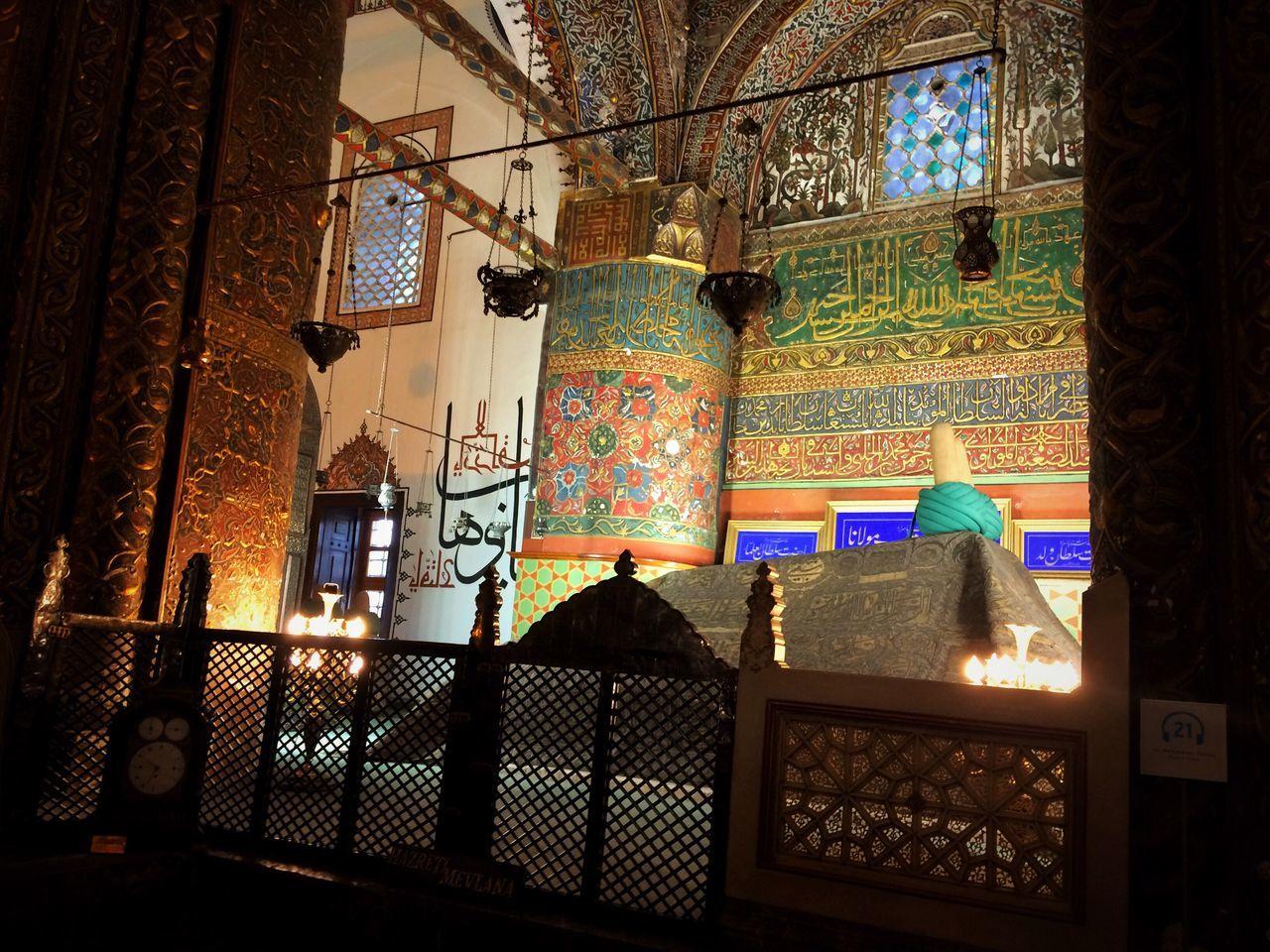Mosque Retro Rear View No People History Konya Turkey Turkey Konya Mevlana Mosque Mevlana Türbesi Love ♥ Vintage Elégance City