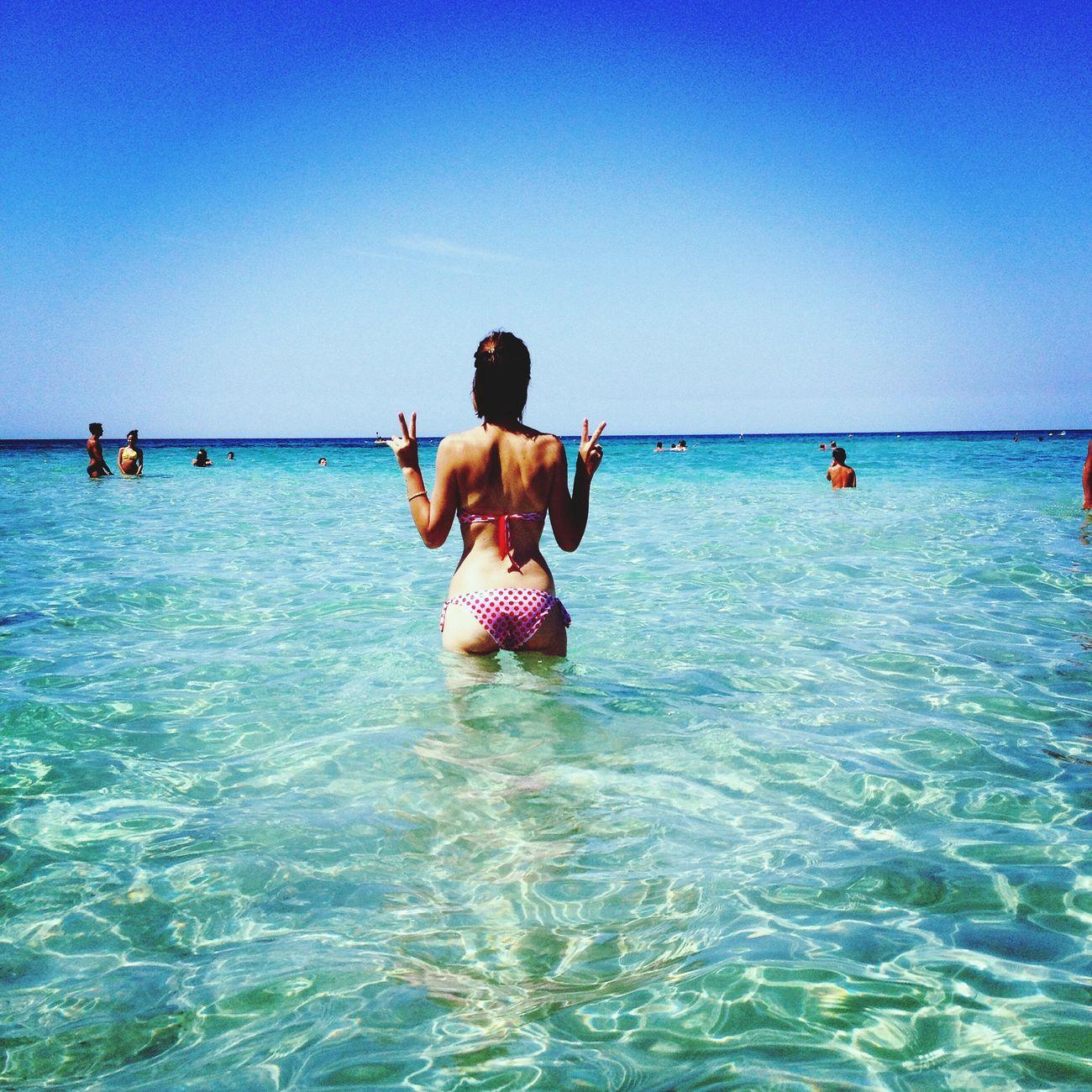 Memories of summer Relaxing Being A Beach Bum Sea Enjoying The Sun Sunshine Enjoying Life Summer2014 Puglia Puglia2014