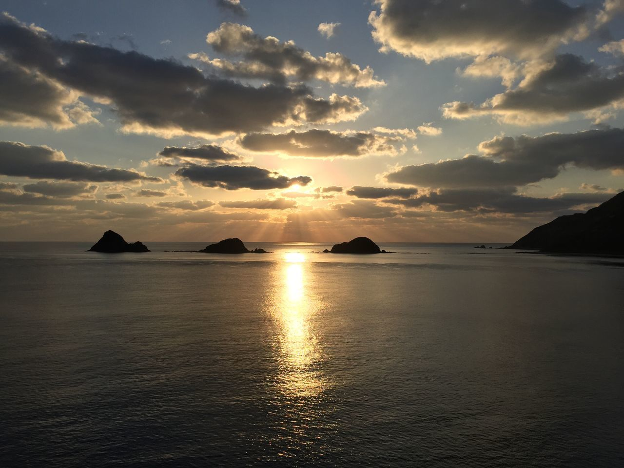 Sea Sunset Tranquil Scene Water Beauty In Nature Tranquility Scenics Reflection Nature Sky Idyllic Cloud - Sky Horizon Over Water No People Sunlight Outdoors Beach Sun Day Smallisland Islands Landscape Kagoshima Amami Island